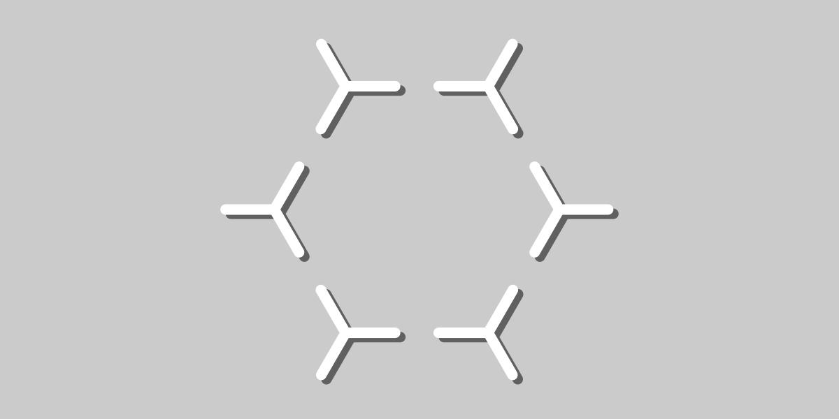przekładki heksagonalne